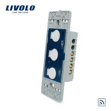 Livolo US Standard 110 ~ 220V Interrupteur Tactile Télécommande Sans Fil À 3 Étoiles 1 Voie VL-C503R