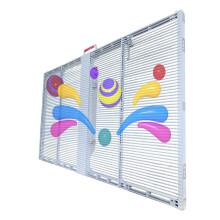 Cartelera LED de alta definición de pared de vidrio