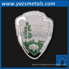 custom coin, customize high quality asymetric shaped coins