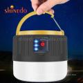 Waterproof IPX6 Outdoor  Emergency  Illumination Super Bright Solar Camping Lights