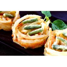 Prepared Fried Vegetable Cake Quick Food Fried Pie, Vegetable and Seafood Tempura