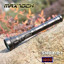 Mamtoch SN6X-21 850m 3 * 26650 Batterie Militär LED Long Range Taschenlampe