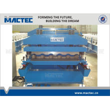 High quality aluminium/steel roofing roof tile roll forming machine