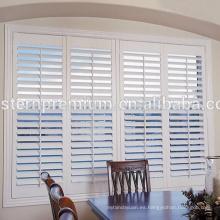 Persianas de la persiana de la plantación del cedro rojo occidental de alta calidad de la ventana usadas