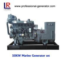 Générateur diesel marin 50kw avec CCS, certificat ISO9001