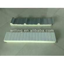 Cold room insulation PU sandwich panel / cold storage/ freezer/pu sandwich panel / sandwich panel / polyurethane sandwich