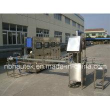 Machine de capsulage de remplissage automatique à godet 19L