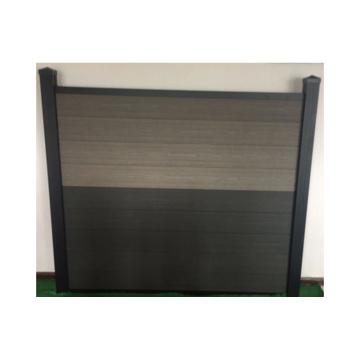 Environmental protection outdoor decorative garden fence wood plastic composite screen easy installation