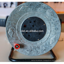 uk plastic cable reel ;european cable reel with ip44 socket