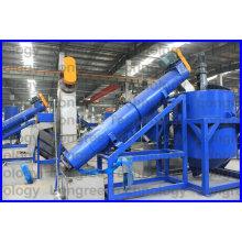 Petbottle PP / PE Waste Crushing Línea de reciclaje y lavado de trituración (500-1000kg / h)