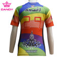 Neues atmungsaktives Stoff-Rugby-Shirt mit voller Sublimation
