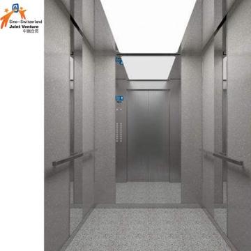 Porte de voiture Mur de voiture Ascenseur en acier inoxydable Hairline