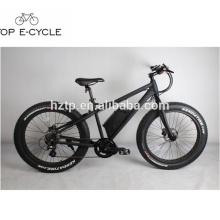 À vendre vers le bas tube lithium batterie électrique gros vélos central moteur graisse e vélo Chine