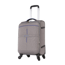classical gray travel case for businessman trolley luggage