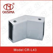 Conector de porta de vidro de chuveiro de 135 graus