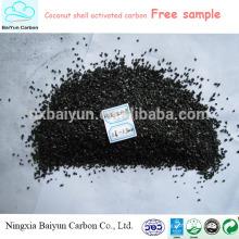Tamaño 4.0mm precio competitivo de carbón activado para la adsorción de formaldehído