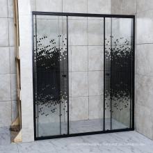 2021 Print Glass Shower Room with Sliding Door