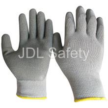 Segurança e luvas de trabalho de revestimento do látex (LY2023)