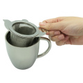 Stainless Steel Tea Strainer with S/S Dish