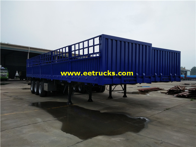 Box Cargo Semi Trailer