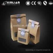 Bolsa de papel de aluminio impreso personalizado para alimentos