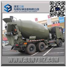 North Benz 7 Cbm Military Cement Mixer Truck
