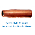 Tweco 23-75 Style Insulated Gas Bozzle