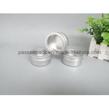 150g Recipiente de alumínio para embalagem de sabão cosmético (tampa de parafuso janela)