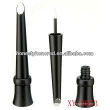 Cone, forma, plástico, plástico, eyeliner, garrafa, cosmético, tubo, maquilagem