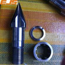 high precision SKD61 material nitrided screw tip