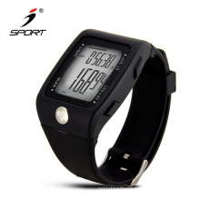 Heart Rate Monitor 3D Motion Sensor Calorie Counter Pedometer Watch