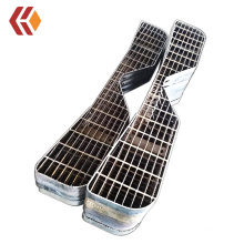 Customized Factory Customized Irregular Shape Steel Stair Tread at Best Factory Price