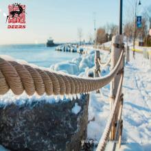 El amarre / anclaje de barcos utiliza una cuerda uhmwpe gruesa para la venta