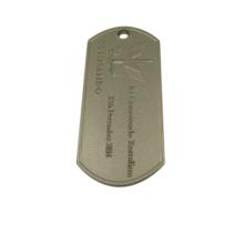Colgante de encargo barato de alta calidad de la etiqueta de perro del metal de la etiqueta del animal doméstico