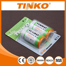 NI-MH rechargeable battery Size D 10000MAH