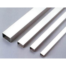 Tuyau rectangulaire en acier inoxydable sans soudure de haute qualité