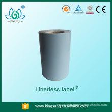Aceite a etiqueta linerless do preço de fábrica da ordem pequena
