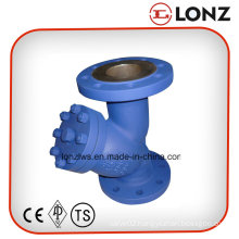 DIN Stainless Steel CF8m/CF8 Flanged Y Type Strainer