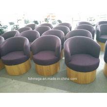 Chaises de salon d'hôtel de tissu de conception américaine (FOH-LC08)