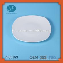 matte porcelain embossed dinner plates,matte platter,Whirl Serving Dish,decorative ceramic serving plate