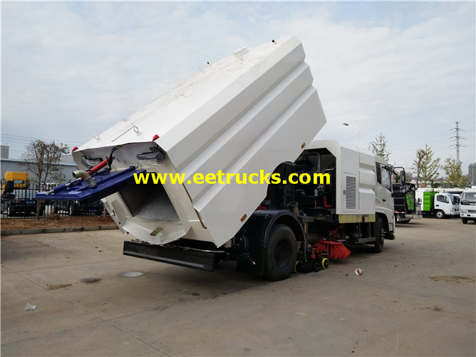 10000l Truck mounted Sweeper Broom