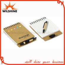Recycled Paper Notepad with Pen for Promotion (NP111)