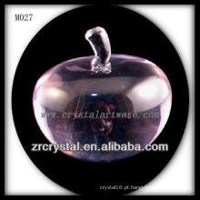 K9 rosa maçã de cristal