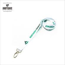 Schlüsselhalter Neck Strap / ID Card Holder Lanyard mit Card / Custom bedruckte weiße Lanyard