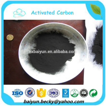 Carvão ativado à base de madeira quente para açúcar de cana