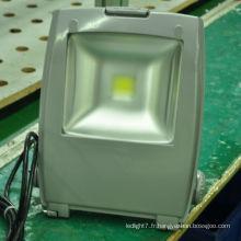 Le fabricant d'éclairage shenzhen ip65 50w a conduit la lumière de crue au sol sportive avec CE et RoHS