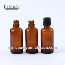 Pharmazeutische bernsteinfarbene ätherische Ölflasche 40ml