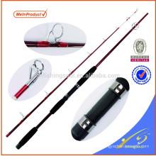 CFR001-1 fibre de verre filature cannes à pêche chat canne à pêche