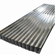 Chapa de ferro ondulado Gi galvanizado Chapa ondulada