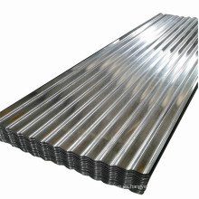 Hoja de hierro corrugado gi galvanizado Hoja corrugada